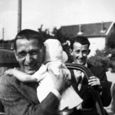 Retour de Marcel Barbu de Buchenwald