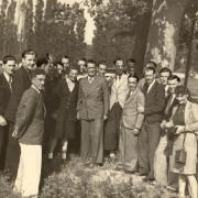 Le 26 mai 1945 à Valence, Marcel Barbu est de retour de Buchenwald