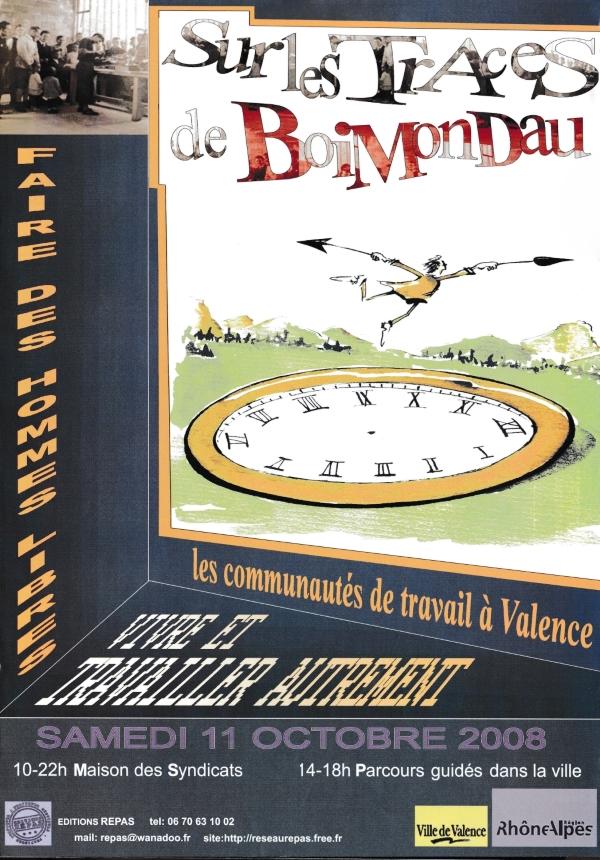 """Affiche """"Sur les traces de Boimondau"""""""