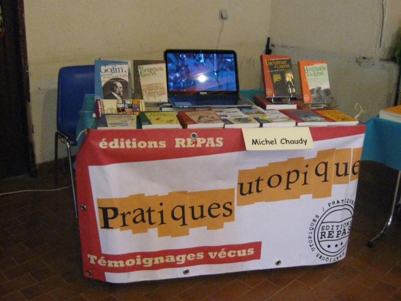 """Beauchastel, """"Rencontre autour du livre"""" Stand éditions REPAS"""