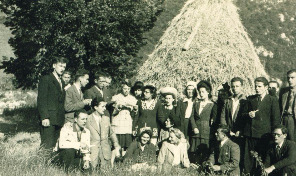 A la ferme de Mourras à Combovin