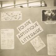 Exposition sur la vie de la Communauté en 1944