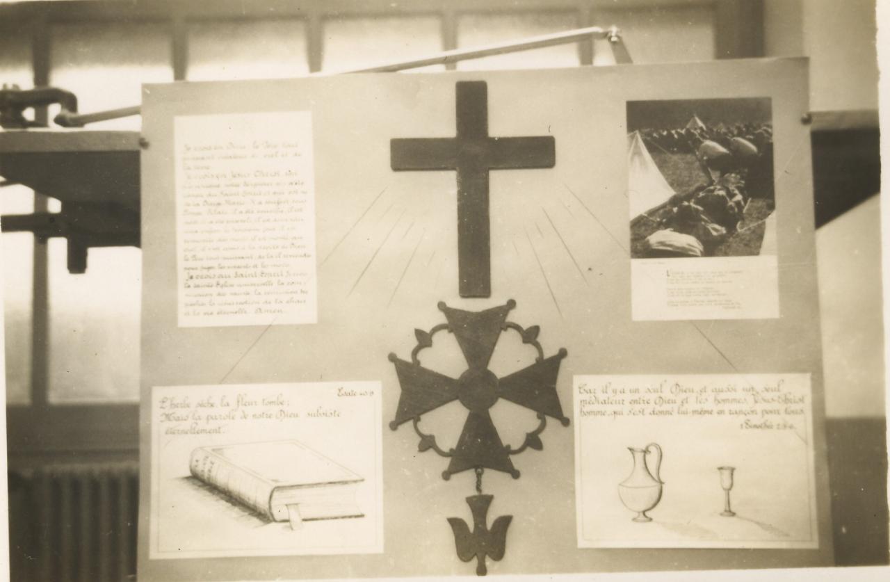 Exposition sur la vie de la Communauté Boimondau en 1944