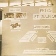 Exposition sur la vie de la Communauté Boimondau à Valence en 1944