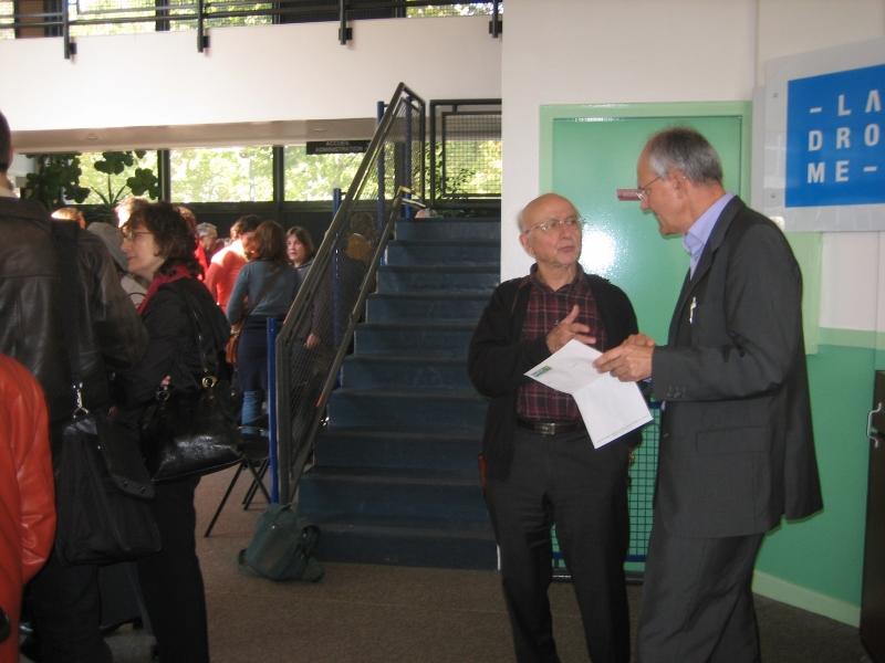 Bernard Plaisantin et l'auteur