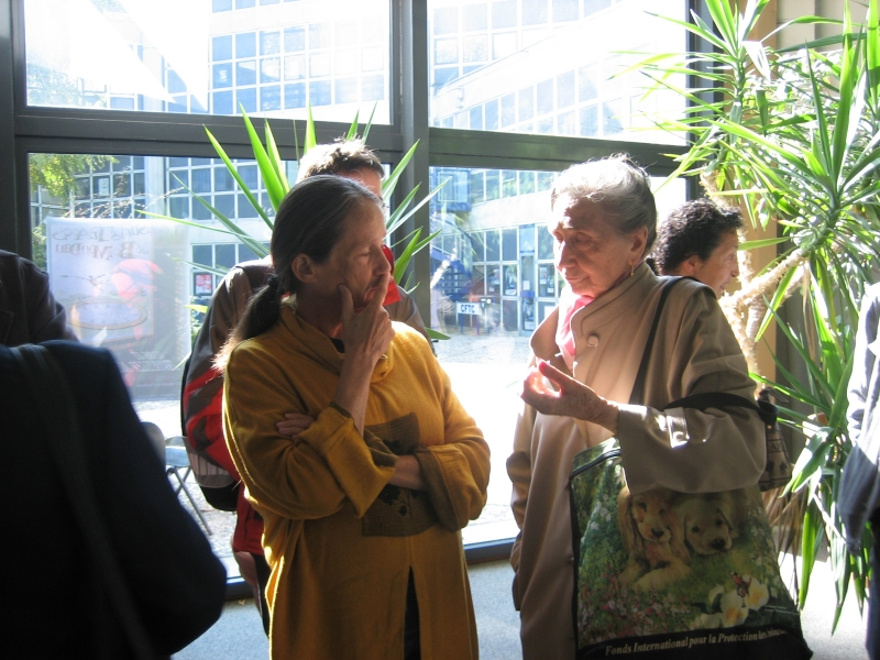 Danièle Demoustier et Hélène Marie