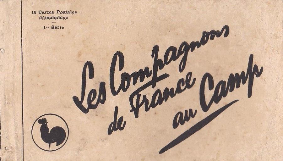 Les Compagnons de France au camp : 1ère Couverture