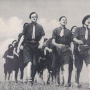 Les Compagnons de France au camp : En route pour le chantier