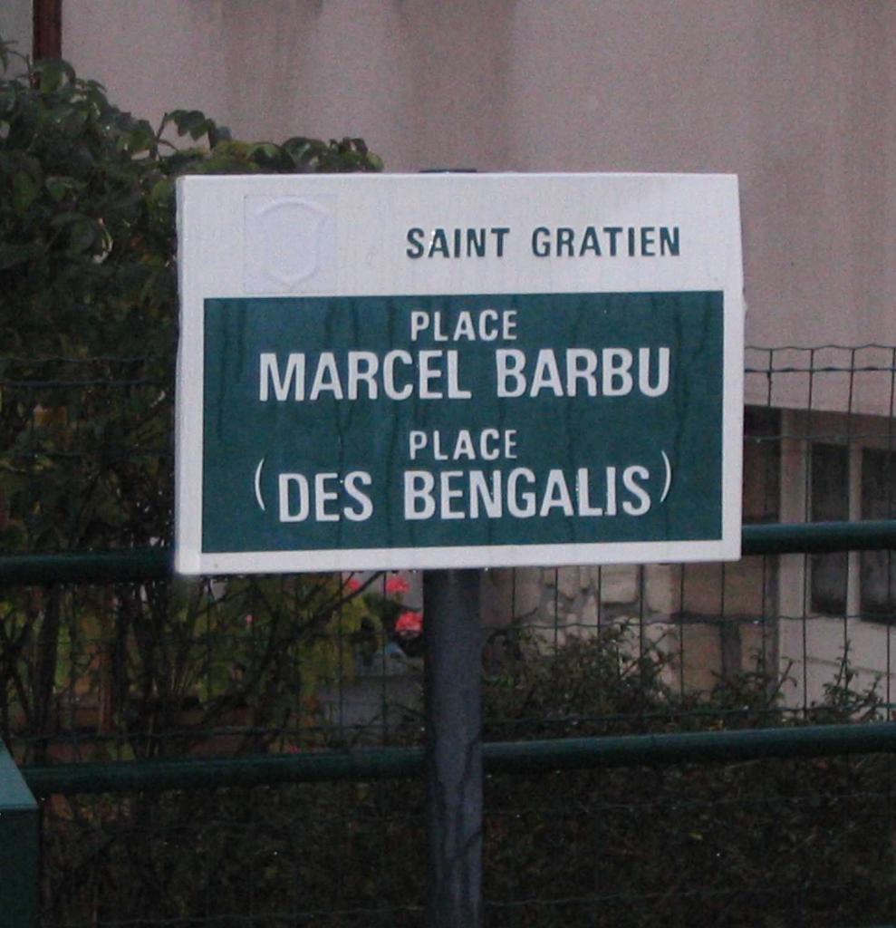 Place Marcel Barbu à Sannois