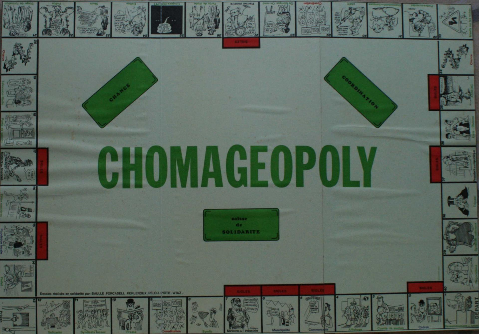 Le Chomageopoly