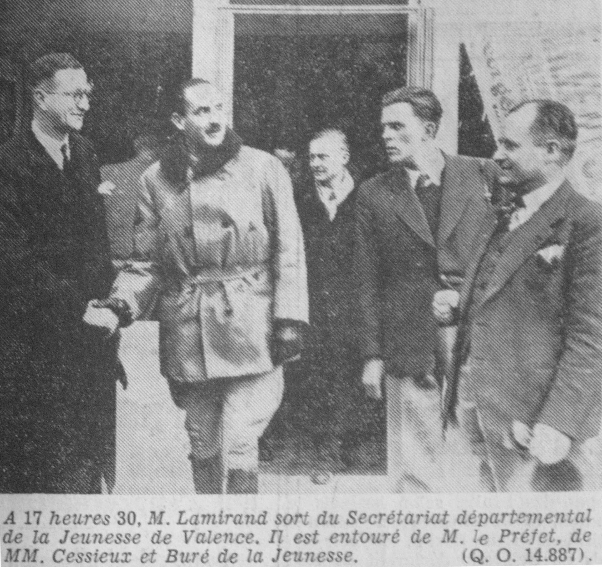Compagnons de France, Georges LAMIRAND
