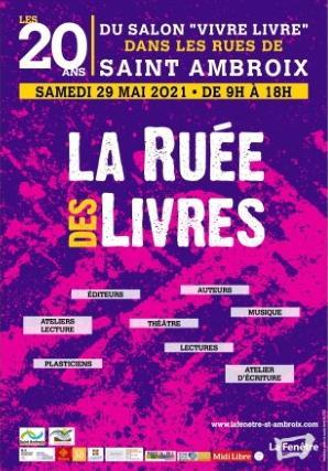 Ruée des Livres à Saint-Ambroix, samedi 29 mai 2021