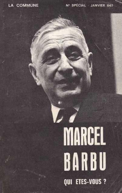 Marcel BARBU, qui êtes-vous ?