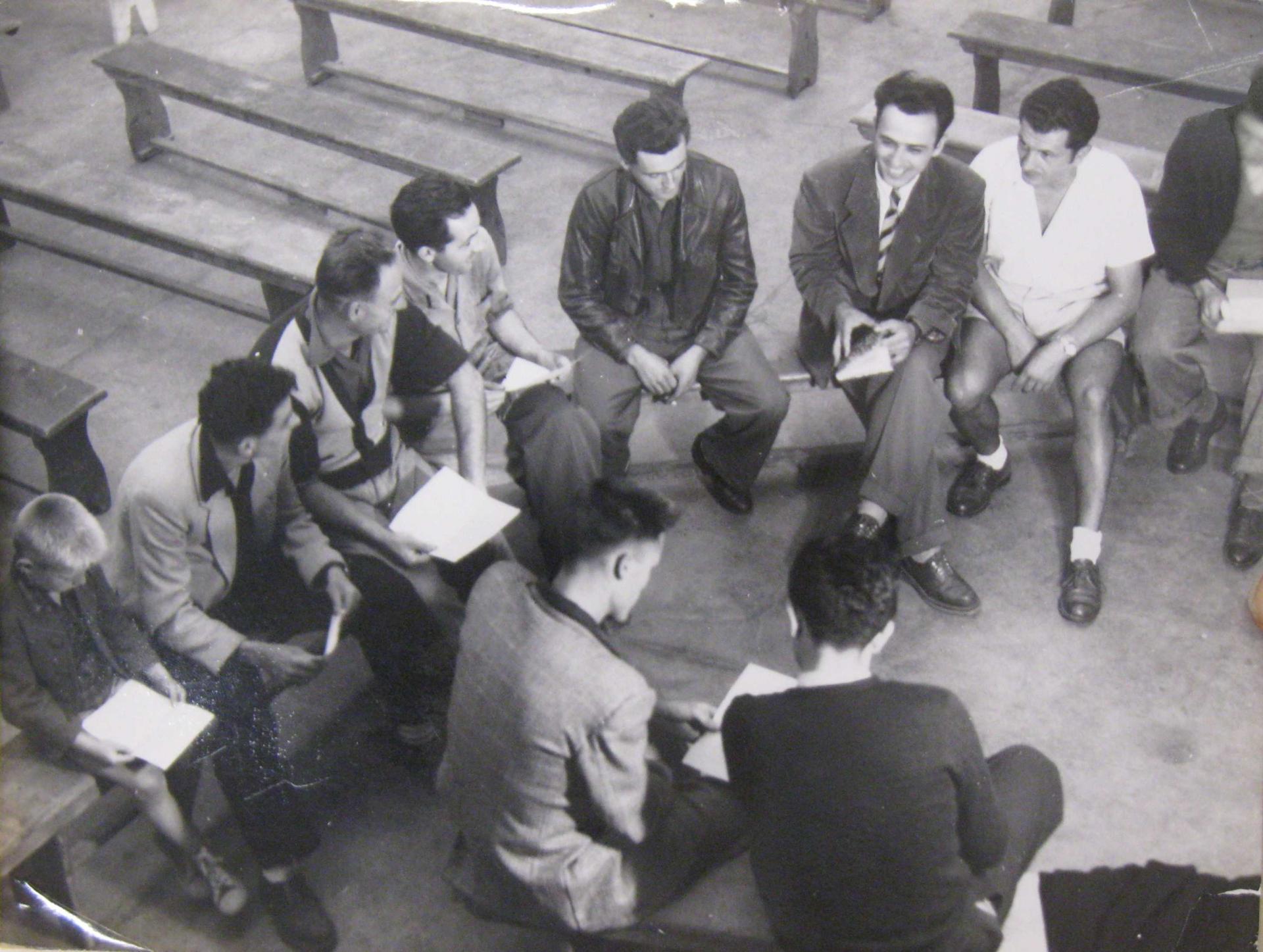 Bancs Boimondau, cours d'histoire
