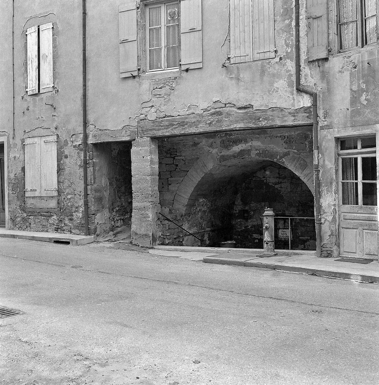 Fontaine Couverte-Maison Mathieu BOUVIER