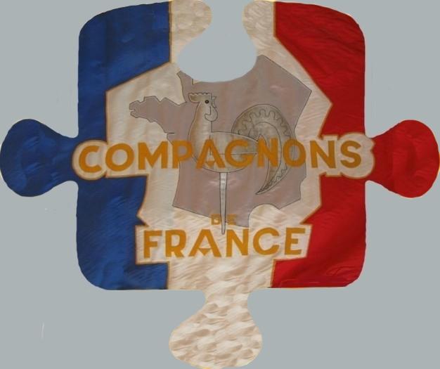Drapeau des Compagnons de France du Valentinois