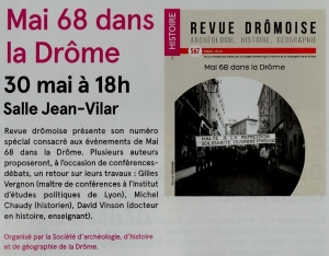 Mai 68, Revue drômoise